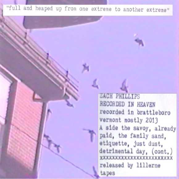 OSR Tapes' Zach Phillips Releases CS On Lillerne Tapes